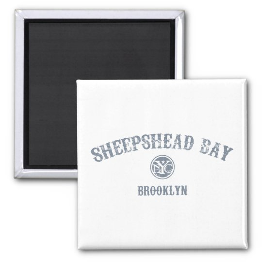 Sheepshead Bay Square Magnet