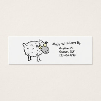 Sheepy Fabric Tags