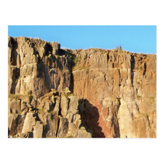 Sheer Cliff Face Postcard