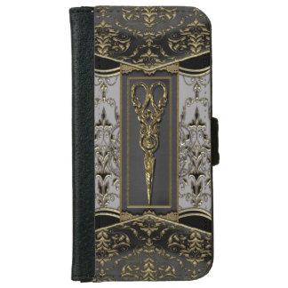 Sheer Hazlehurst Antiqued ScissorsIV iPhone 6 Wallet Case