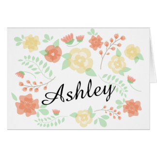 Sheer Summer Flowers | Will you be my bridesmaid? Card