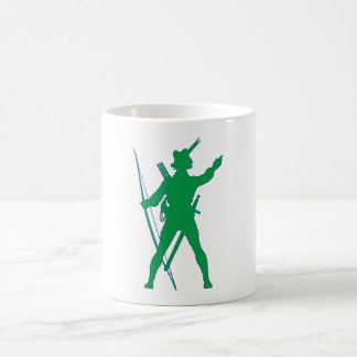 Sheet contactor of outlawing more archer outlaw mug