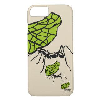 Sheet cut ant nature Stencil iPhone 8/7 Case