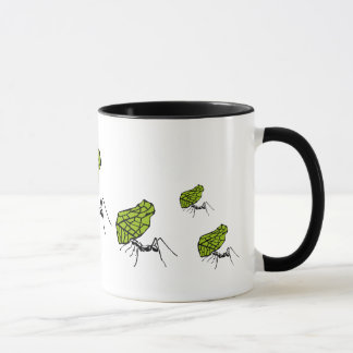Sheet cut ant nature Stencil Mug