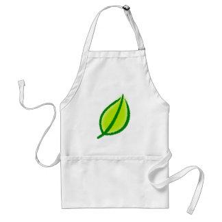 Sheet leaf apron