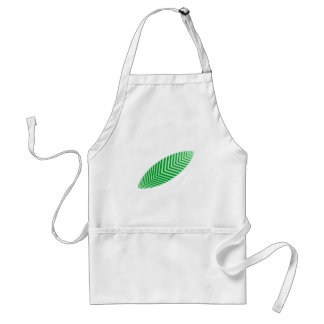 Sheet leaf apron