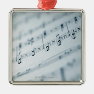 Sheet Music 10 Christmas Ornament