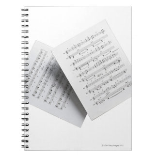 Sheet Music 12 Notebooks