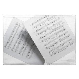 Sheet Music 12 Placemat