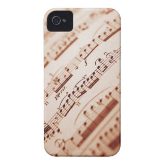 Sheet Music 5 iPhone 4 Case-Mate Case