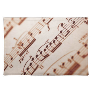 Sheet Music 5 Placemat