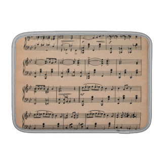 Sheet Music 6 MacBook Sleeve
