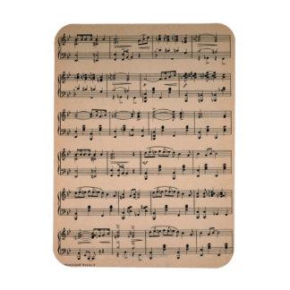 Sheet Music 6 Magnet