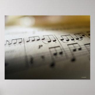 Sheet Music 6 Poster