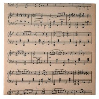 Sheet Music 6 Tile