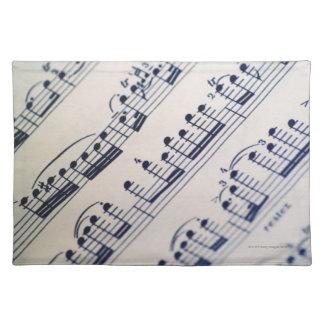 Sheet Music 8 Placemat