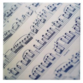 Sheet Music 8 Tile