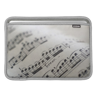 Sheet Music 9 Sleeve For MacBook Air