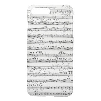 Sheet Music for the Overture to 'Egmont' iPhone 7 Plus Case