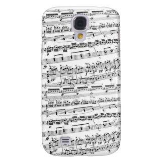 Sheet Music/Glee Club Galaxy S4 Case