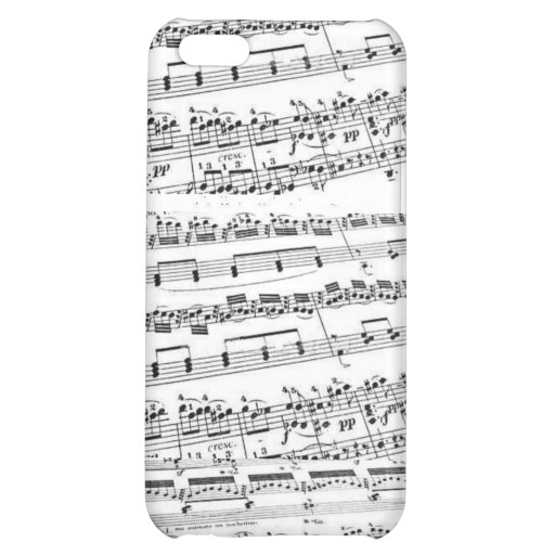 Sheet Music/Glee Club iPhone 5C Cover