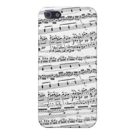 Sheet Music/Glee Club iPhone 5 Case