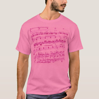 Sheet Music/Glee Club T-Shirt