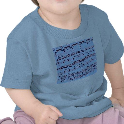 Sheet Music/Glee Club Tee Shirts
