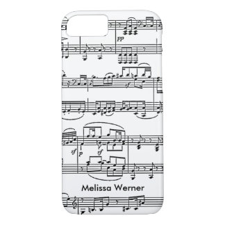 sheet music personalized iPhone 7 case