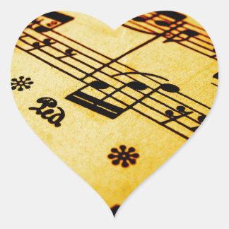 Sheet Music Sticker