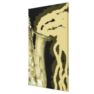 Sheet of sound, canvas canvas print
