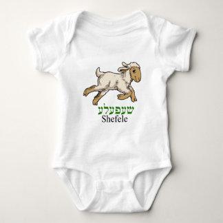 """Shefeleh""-little lamb Baby Bodysuit"