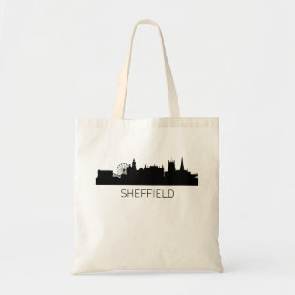 Sheffield England Cityscape Tote Bag