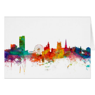 Sheffield England Skyline Card