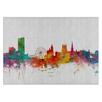 Sheffield England Skyline Cutting Board