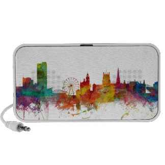 Sheffield England Skyline Notebook Speaker