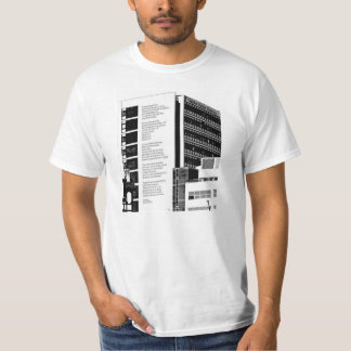 Sheffield Hallam Andrew Motion Poem T-Shirt