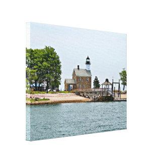 Sheffield Island Lighthouse, Connecticut Canvas Print