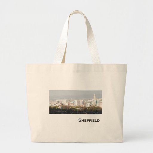 Sheffield Landscape picture Tote Bags