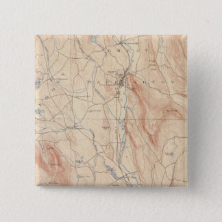 Sheffield, Massachusetts 15 Cm Square Badge