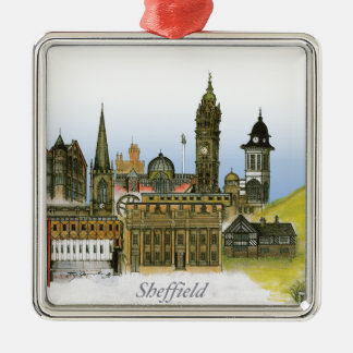 sheffield - south yorkshire, tony fernandes christmas ornament