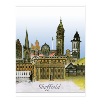 sheffield - south yorkshire, tony fernandes postcard