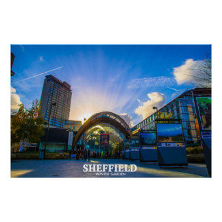 Sheffield Winter Garden Poster