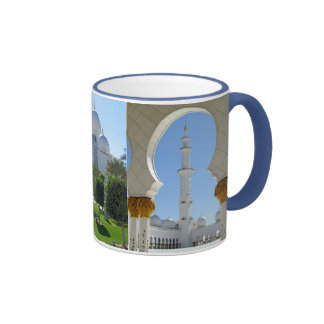 Sheikh Zayed Grand Mosque 1 Ringer Mug