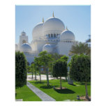 Sheikh Zayed Grand Mosque domes 1 Poster