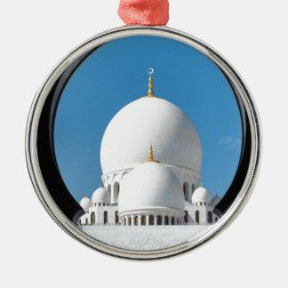 Sheikh Zayed mosque 2 Christmas Ornament