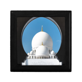 Sheikh Zayed mosque 2 Small Square Gift Box