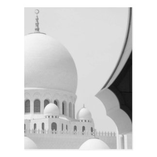 Sheikh Zayed mosque 3 Postcard