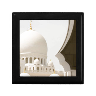 Sheikh Zayed mosque 3 Small Square Gift Box