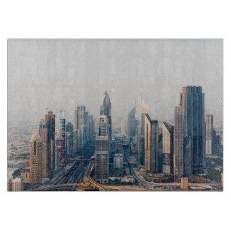 Sheikh Zayed Road Cutting Board